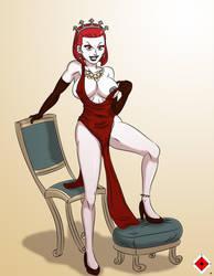 Commission: Lady Valmorri by 00gojiramon