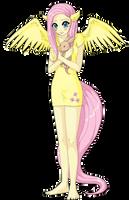 Fluttershy by niwatori