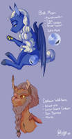 Next Gen: Blue Moon and Wolfbane by qatsby