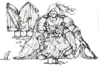 Geralt-meditacija by ukan01