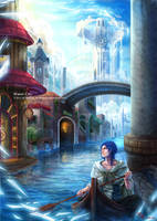 Traveller :: Water City by RedPear