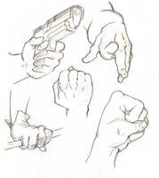 Hand Study by al305sr