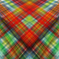 symmetrical plains of plaid by versonova