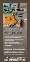 Wearables Flyer Half Sheet July 11 2015 by versonova
