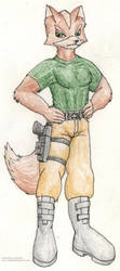 Beyond Game Over: Fox McCloud by Jim-Prower