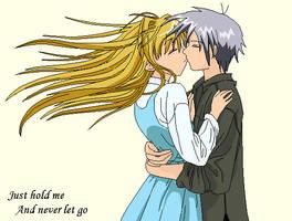 Kiss me - Misuzu and Yukito by Misuzu-Gao