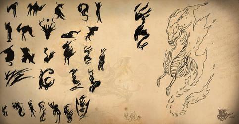 Concept art - Creature by DragonaTodd