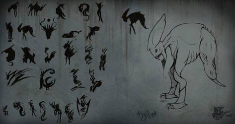 Concept art - Third Creature (Sci-fi) by DragonaTodd