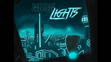 Neon Lights - Cover by DragonaTodd