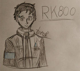 Connor/RK800 by ThanosPagkidis