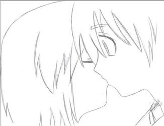 +Lucy Kiss+ by yaoi-fangirl
