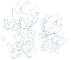 Two Heros- Sketch by Heilos