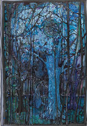 Blue Forest by Chobek