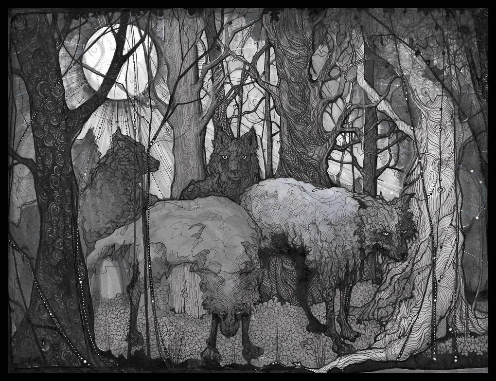 Grey Wood by Chobek