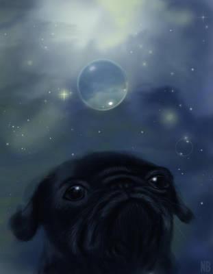 Black Pug by Amitielik