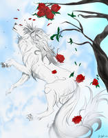 Phantom Roses by lunarsailor