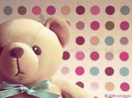 my dear teddy bear by astartefix