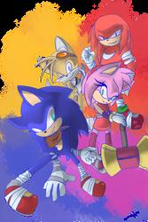 Sonic Boom POAWAH by FlamieDeWynter