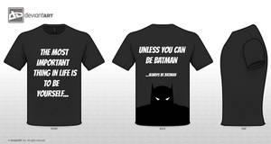 Always be Batman by LawlietDzn
