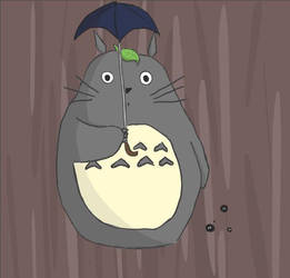 Totoro by hamonotero