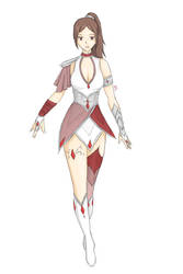 Charatcer Design Practise by hamonotero
