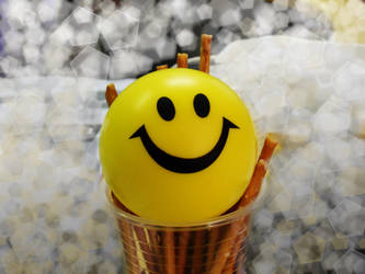 sponge stress ball by AnNnItoo