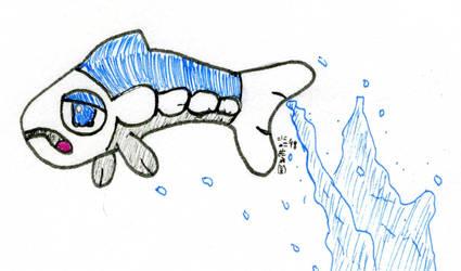 Inktober: Leap! by SirWongIII