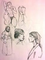 Sketchbook Page by Dempsain