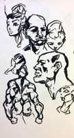 Random Sketches by Dempsain