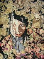 In Her Dead Garden Of Flowers by gallsbaith
