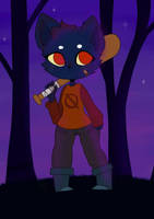 Night in the Woods by MilkNChoco