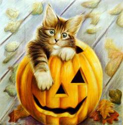 Happy-Halloween. by Alena-Koshkar