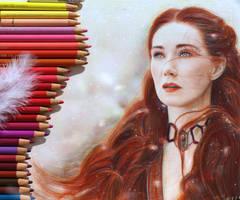 The Red Priestess - Game of Thrones by Alena-Koshkar