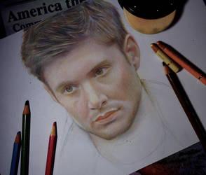 Dean Winchester (WIP) by Alena-Koshkar