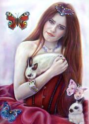 Self-portrait by Alena-Koshkar