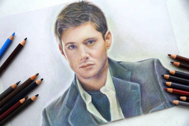 Dean Winchester (Jensen Ackles) by Alena-Koshkar