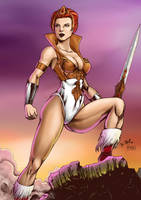 Teela color by DyegoJack