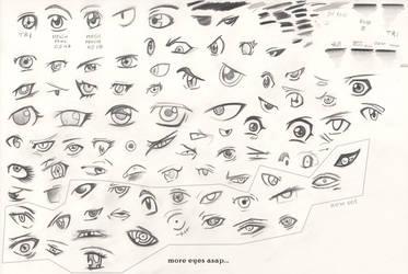 manga eyes tutorial - 2nd edit by zio-san