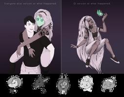 LU: Bezkresowie .:. Ezra i Q by PurplePomelo