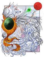 -Okami-  Regal Amaterasu by Godspoison