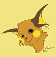 -Pokemon- Raichu by Godspoison