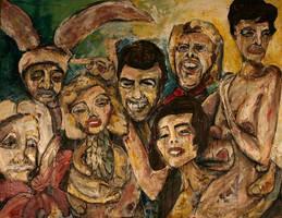 Family Portrait by monksjuhgipibzby