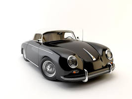 Porsche Speedster Typ 356A by sedatdurucan