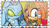 ChaosxTikal (Tikaos) stamp by ShadamyFan4everS