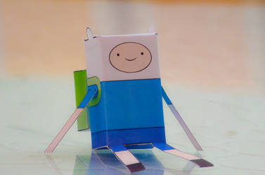 Finn the human - Papercraft by Carlosf93