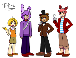 Human Animatronics by Tails-Doll-Lover