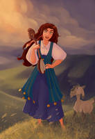 What if Esmeralda lived in Montenegro? by PlumpOrange