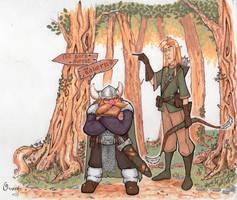 Goran and Todo by PlumpOrange