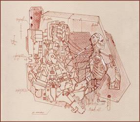 Dreadnought Inside by PlumpOrange