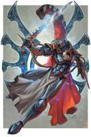 Asurmen the Hand of Asuryan by PlumpOrange